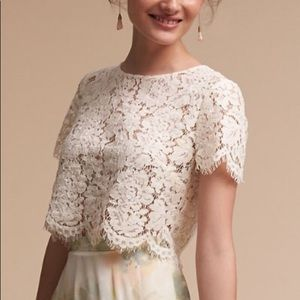 """BHLDN/Jenny Yoo Collection """"Kenzie"""" Lace Top"""